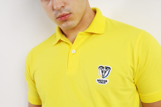 KOSZULKA POLO SPEEDWAY TEAM 2020 YELLOW